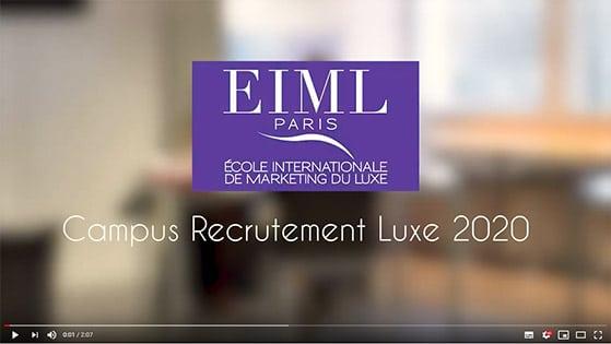EIML Paris | Campus recrutement luxe 2020
