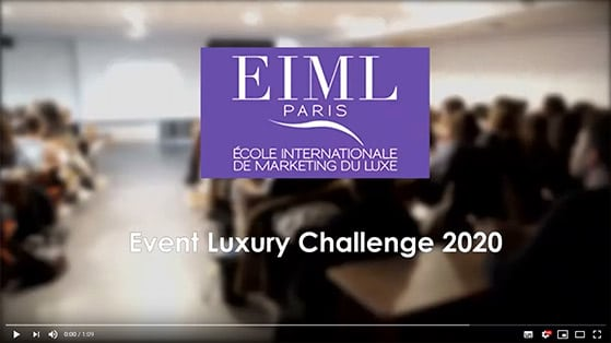 EIML Paris | Event Luxury Challenge 2020