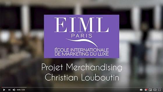 EIML Paris | Projet Merchandising Christian Louboutin
