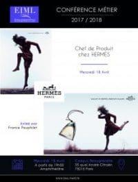 """Conférence """"Chef de Produit Hermès"""""""