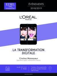 "Conférence ""La transformation digitale"""