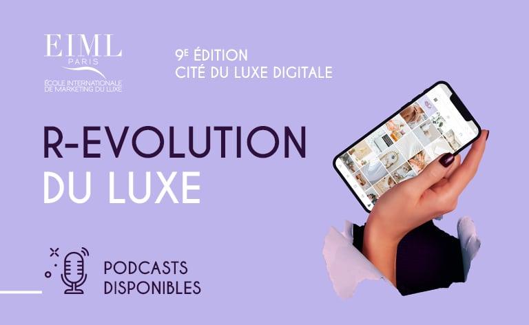 Visuel actualité podcast cité du luxe