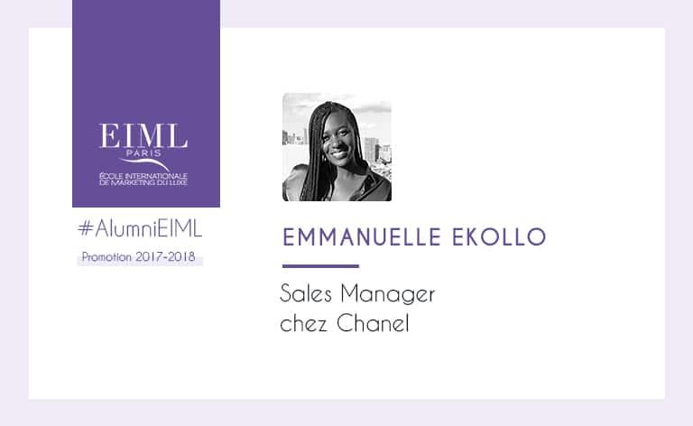 Visuel alumni Emmanuelle Ekollo