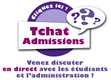 Tchat Admission - EIML Paris