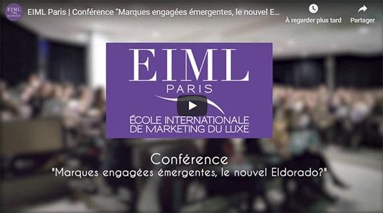 Conférence Antoine Fine « Marques engagées émergentes, le nouvel Eldorado ? »