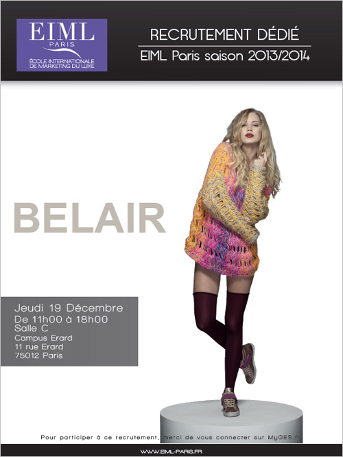Recrutement d di bel air l 39 eiml paris eiml - Cabinet de recrutement retail mode luxe ...